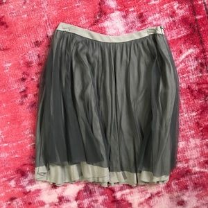 Urban Outfitters gray ballet style skirt